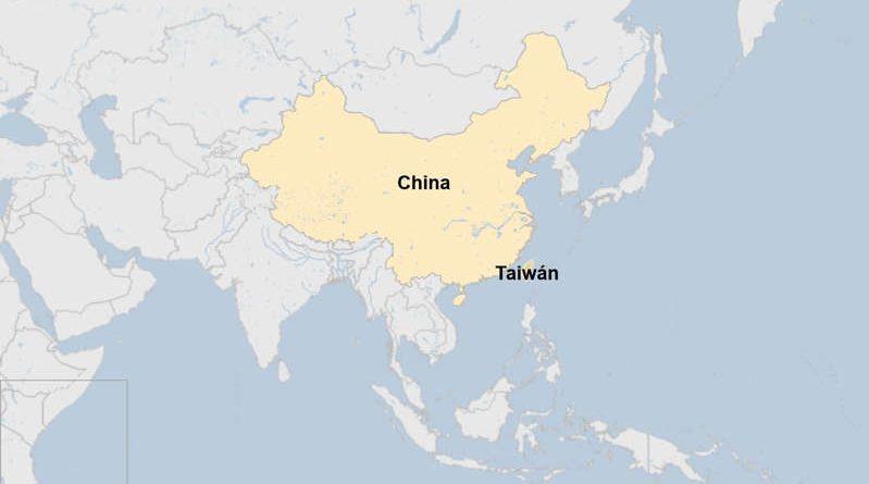 © Proporcionado por Semana Referencia geográfica de Taiwán